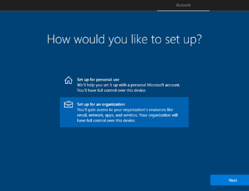Windows 10: Modern Management – Automate OSD with a USB drive and a Provisioning Package