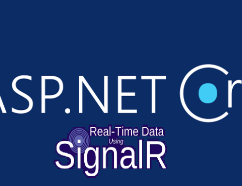 Send instant message from server back to client using SignalR