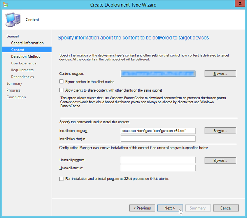 Deploying Office 2016 with SCCM 2012 – CTGlobal