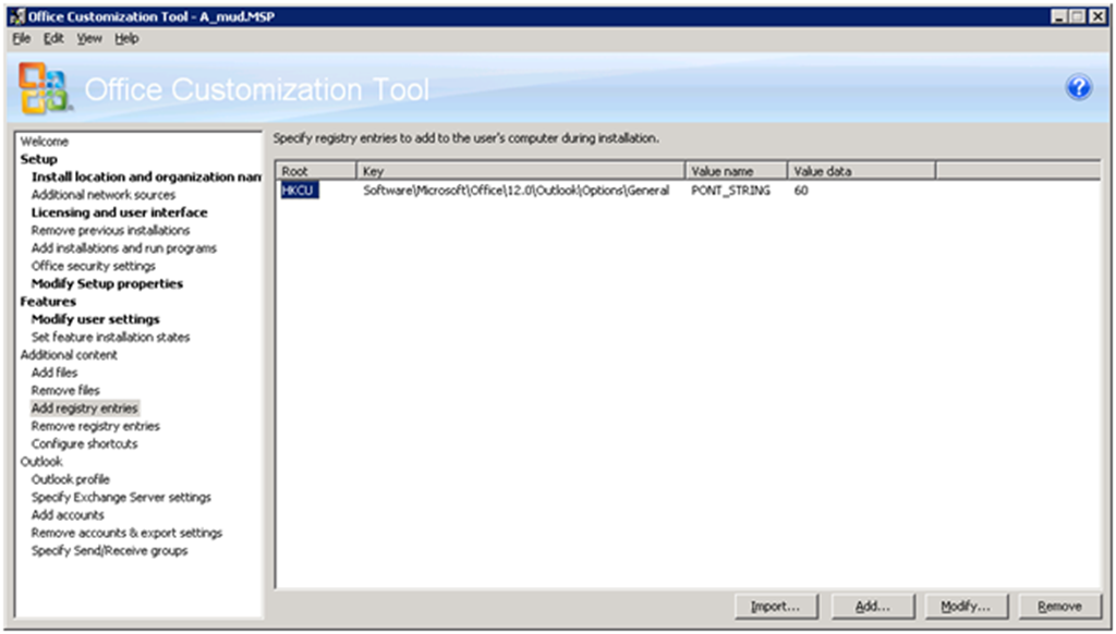 Deploying Office 2007 – Windows Desktop Search is not currently