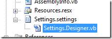 Add Custom Data Type / Structure to My Settings in VB NET / WPF
