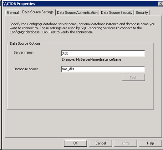 Configuring SQL Reporting Services user permission for Configuration