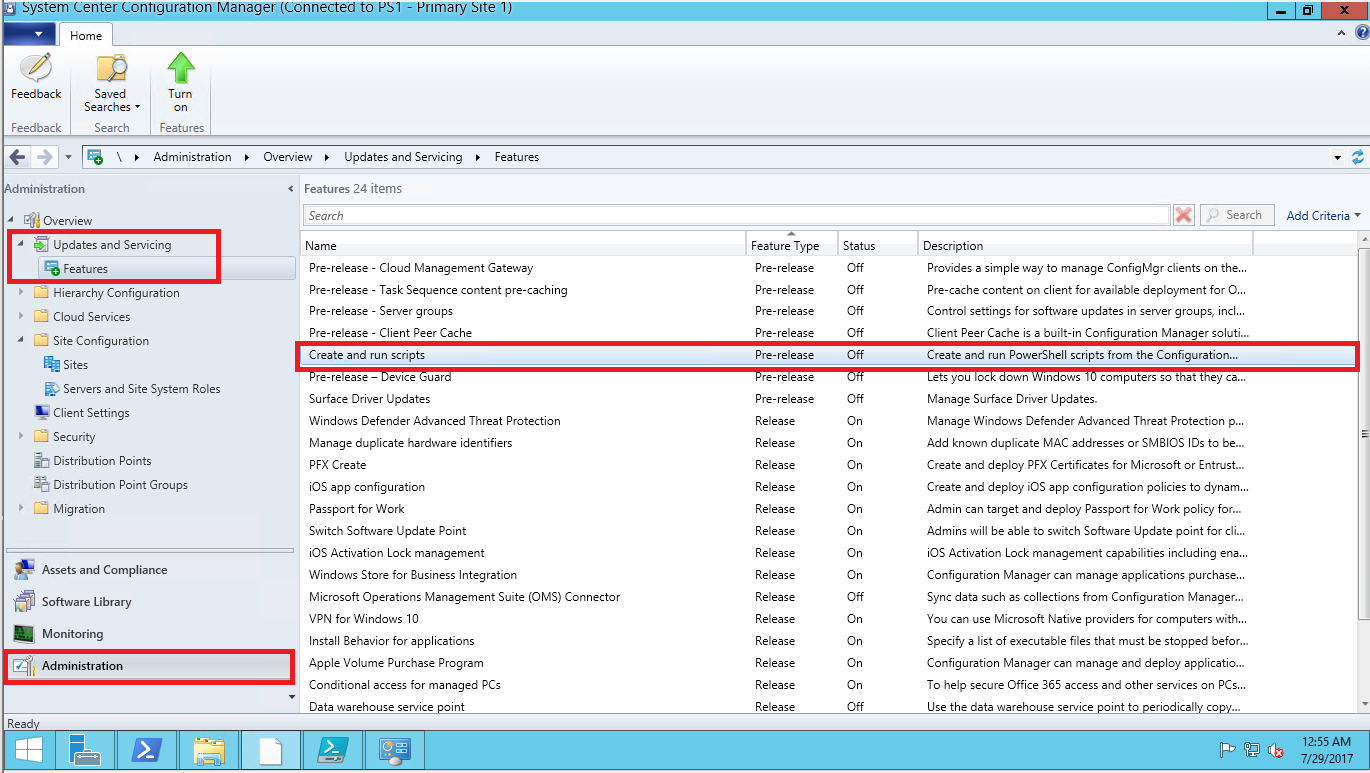 how to get powershell to run scripts