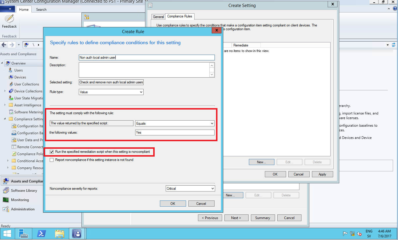 Remove non authorized members of the local administrator group with