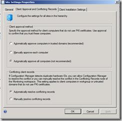 6a-Configure Client approval