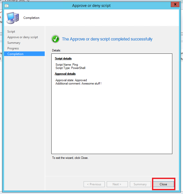 """Create and run scripts with the new feature """"Run Powershell scripts"""