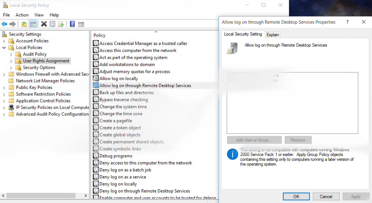 Troubleshooting with Remote Desktop Connection – Solving the