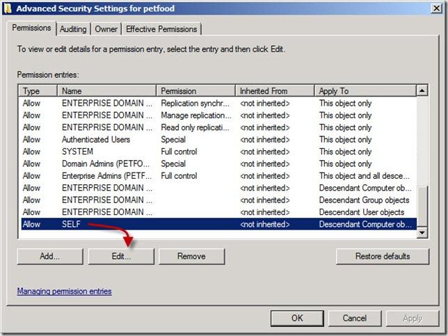 adv set for domain