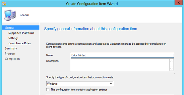 Dealing with Network Printers in Configuration Manager 2012