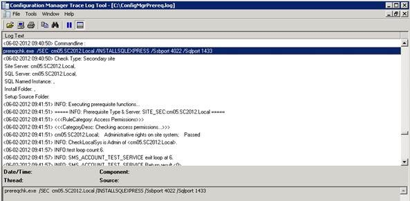 Installing a secondary site in System Center 2012 Configuration