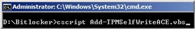 command-prompt - cscript-addtpm