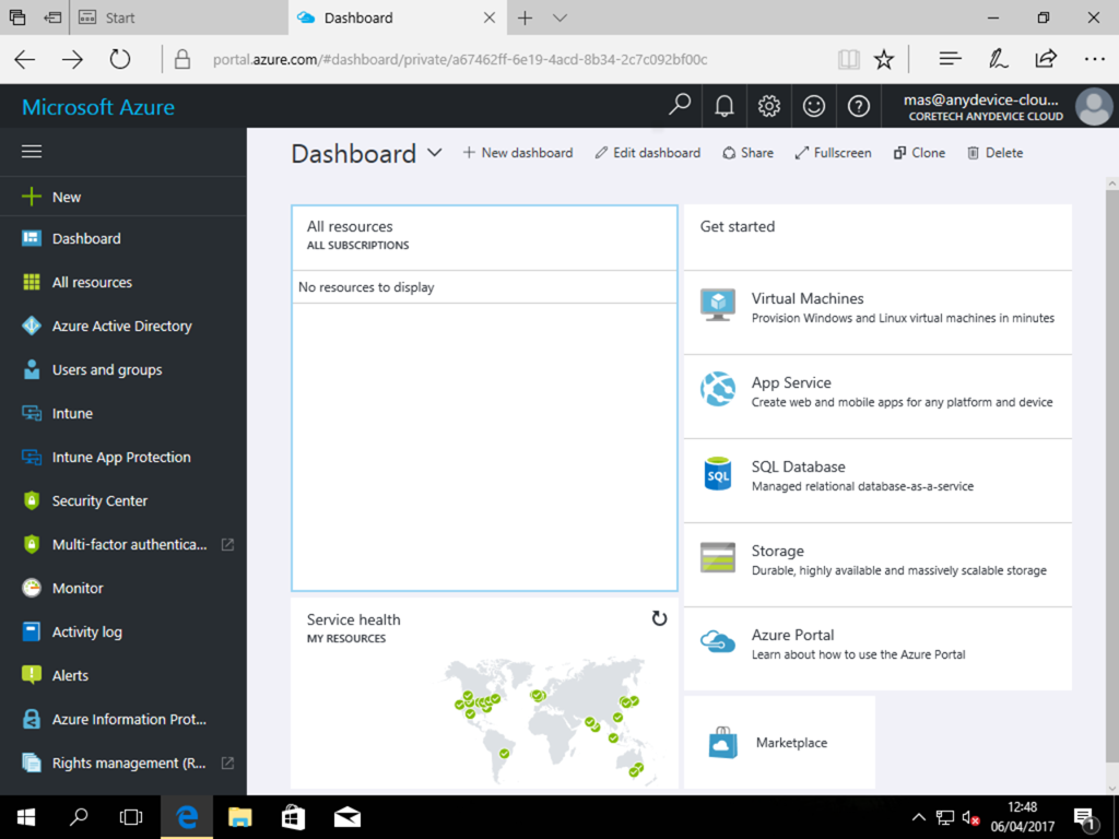Windows 10: Upgrade the edition with Intune in the new Azure