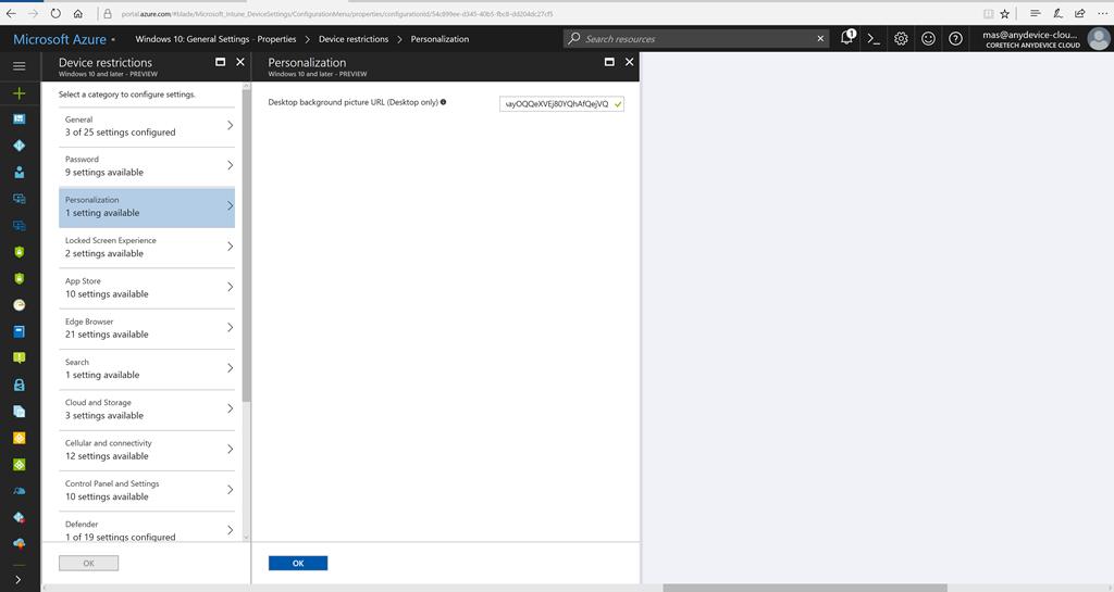 Set Desktop And Lock Screen Wallpaper With Intune In Windows 10