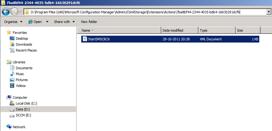 configurationmanager does not exist