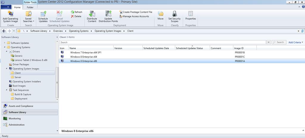 Deploy Windows 8 Enterprise x86 on a UEFI x86 device using