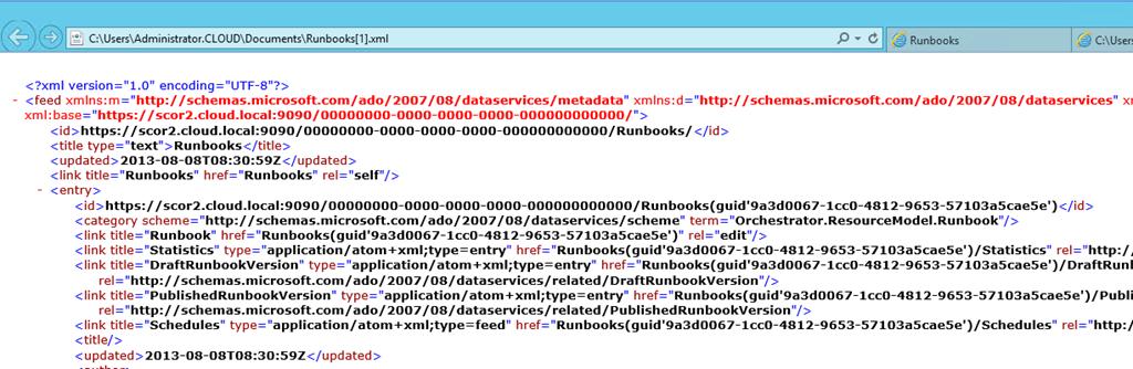 SCO 2012 R2: System Management Automation Part 3 – The Web