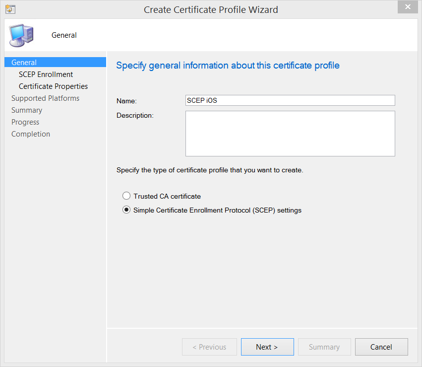 Managing Wifi Certificates For Ios Devices With Configmgr Mdm Ctglobal