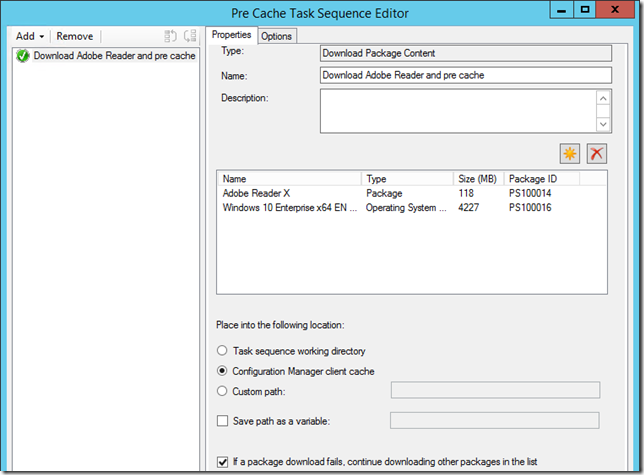 Win PE Peer caching in ConfigMgr Current Branch – CTGlobal