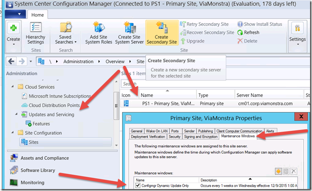 Don't be fooled by the new Site Server Servicing Window in ConfigMgr