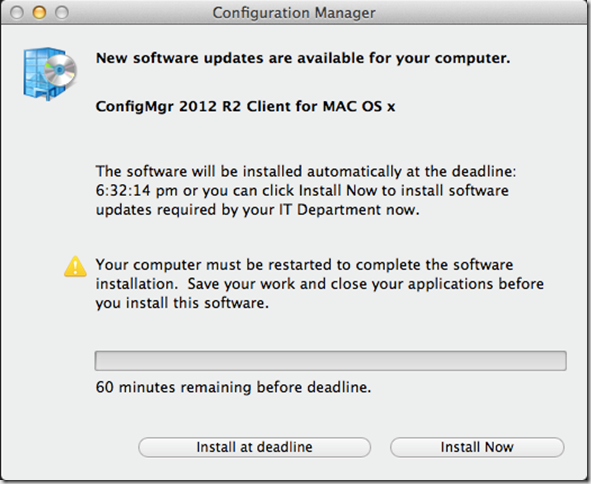 Installing ConfigMgr R2 2012 client for Mac OSx – CTGlobal