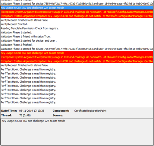 Troubleshooting certificate deployment on ios devices with configmgr to fix the issue you have to modify the certificate ndes general purpose certificate template and remove signature in proof of origin yelopaper Gallery